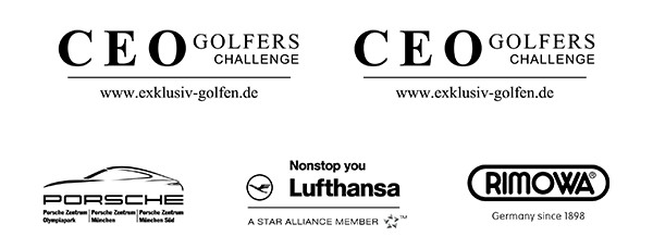 CEO-Golf Porsche-Lufthansa-Rimowa