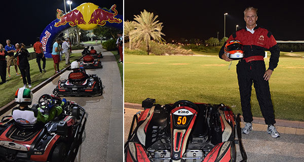 Go-Kart Rallye im Saadiyat Beach Golf Club