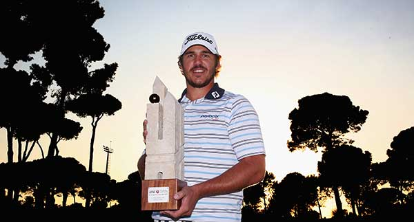 Brooks Koepka gewinnt die Turkish Airlines Open