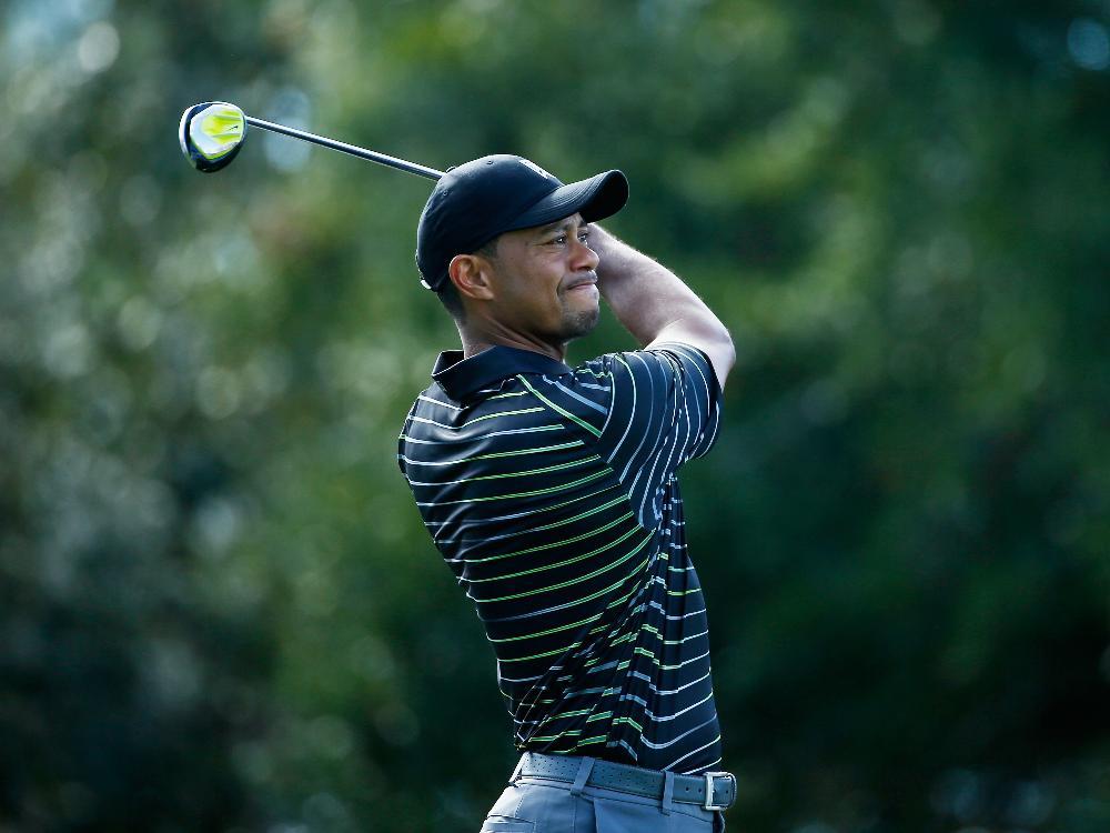 Unzufrieden: Tiger Woods landet auf dem letzten Platz