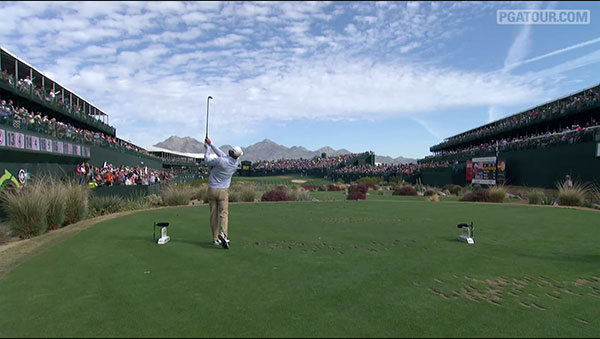 TPC Scottsdale: Größte Golfparty am 'The Stadium Hole'