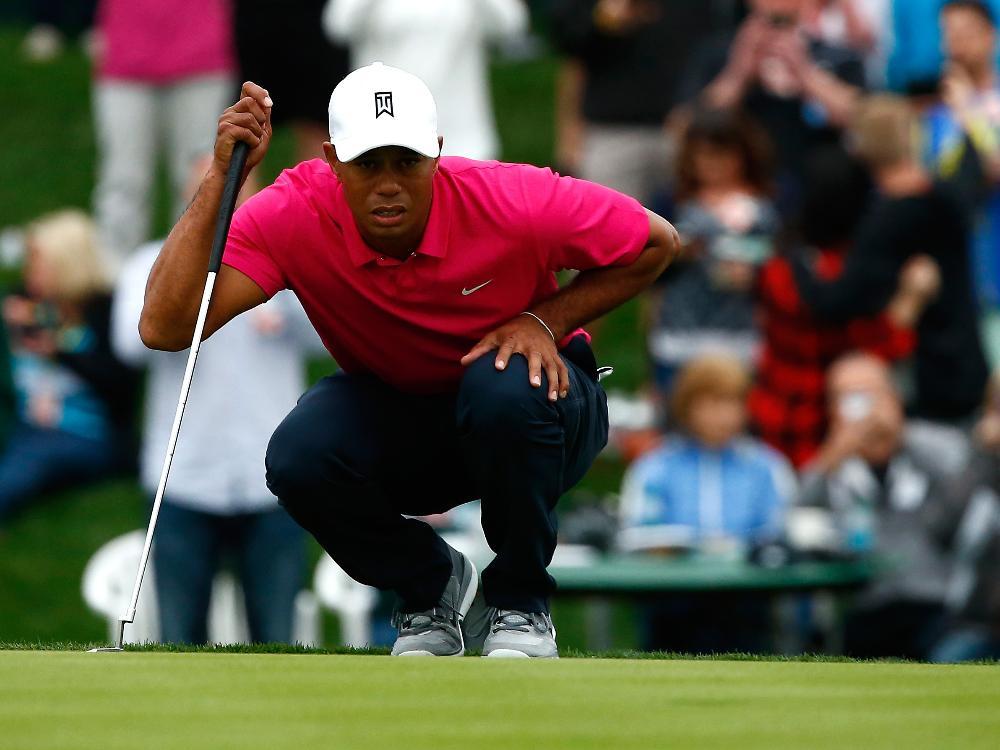 Schwacher Start ins neue Jahr: Tiger Woods