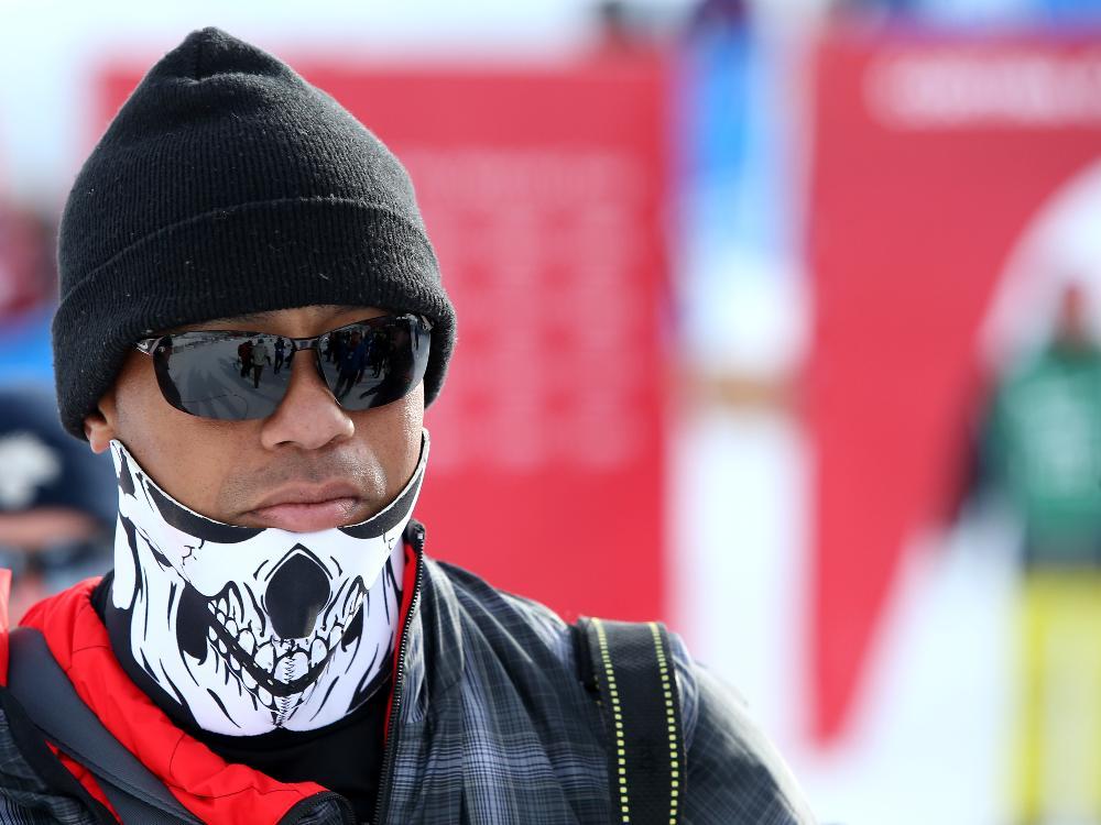 Woods besuchte seine Freundin Lindsey Vonn in Italien
