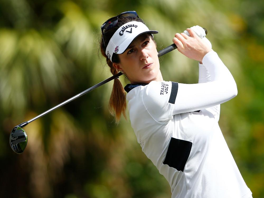 Guter Start ins Turnier: Sandra Gal