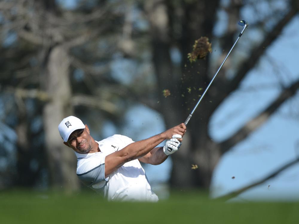 Rückenschmerzen stoppen Tiger Woods