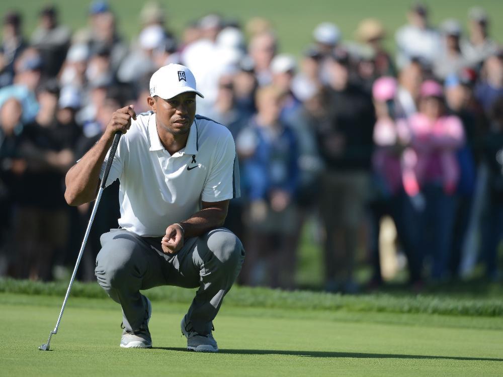 Tiger Woods legt eine Pause ein