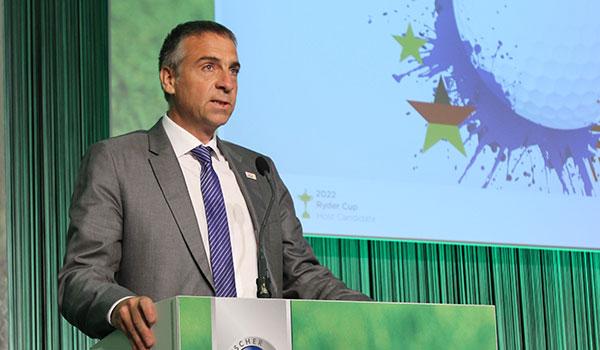 Marco Kaussler, Leiter der dt. Ryder Cup Bewerbung 2022