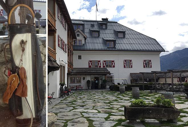 Clarke-Gable-Golfbag-Foto-Schloss-Mittersill
