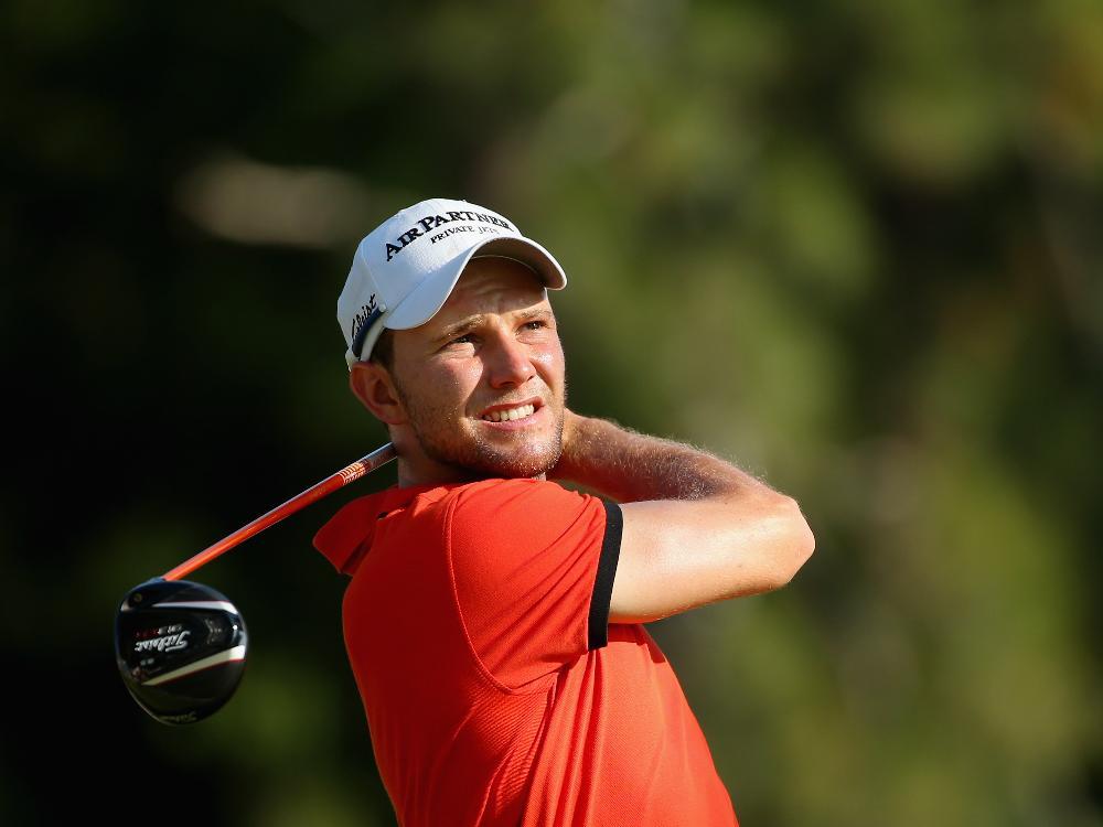 Keine gute Runde von Golfprofi Maximilian Kieffer