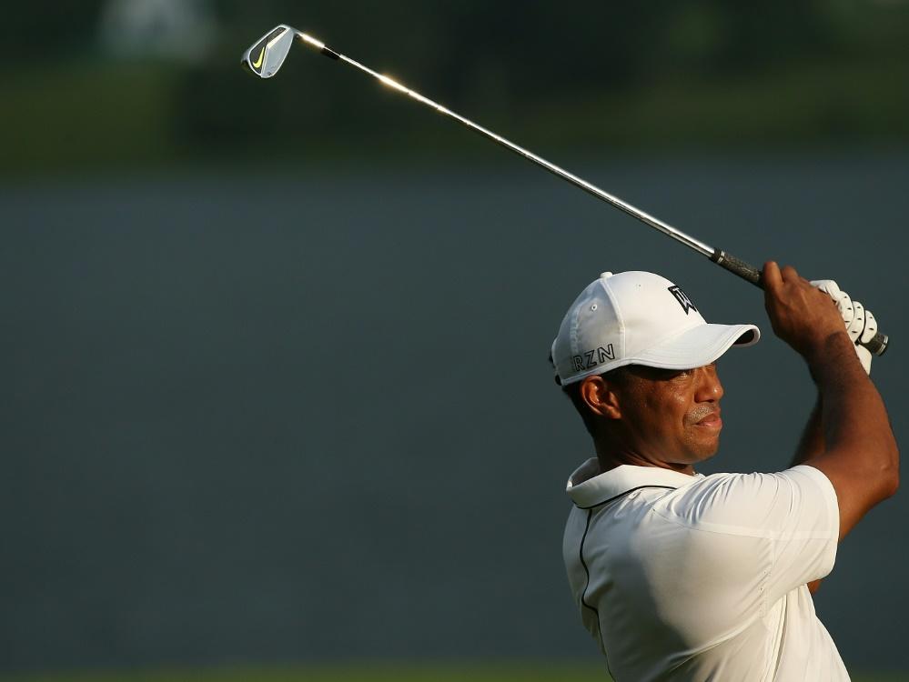 Zum Auftakt in Gainesville mit Problemen: Tiger Woods