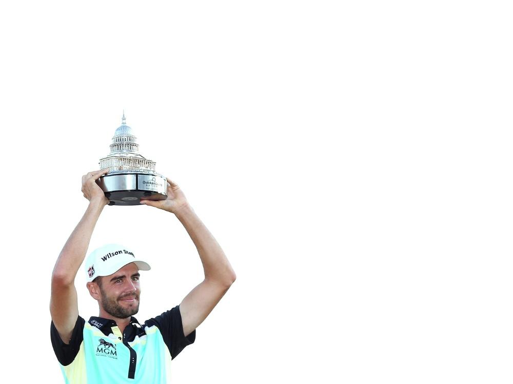 Erster Turniersieg der Karriere: Troy Merritt