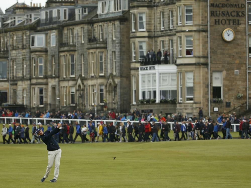 Die British Open finden 2019 in Nordirland statt