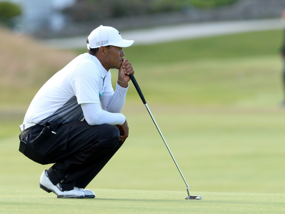Tiger Woods arbeitet langsam an seinem Comeback