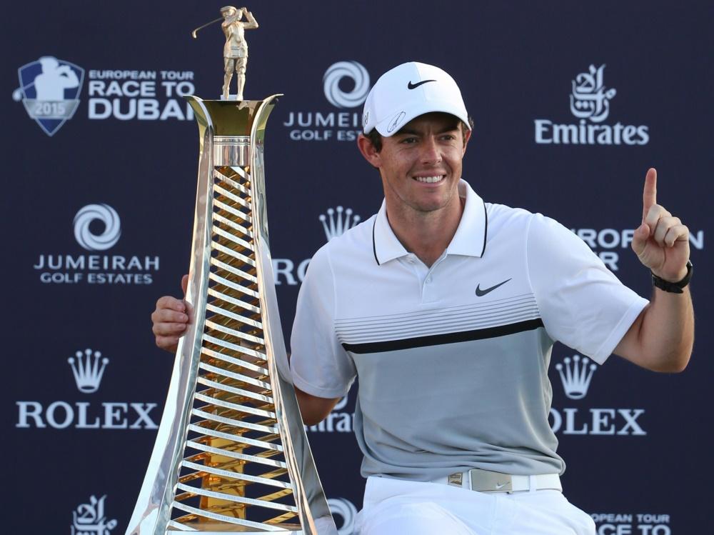 McIlroy hat das Finale der Europa-Tour in Dubai gewonnen