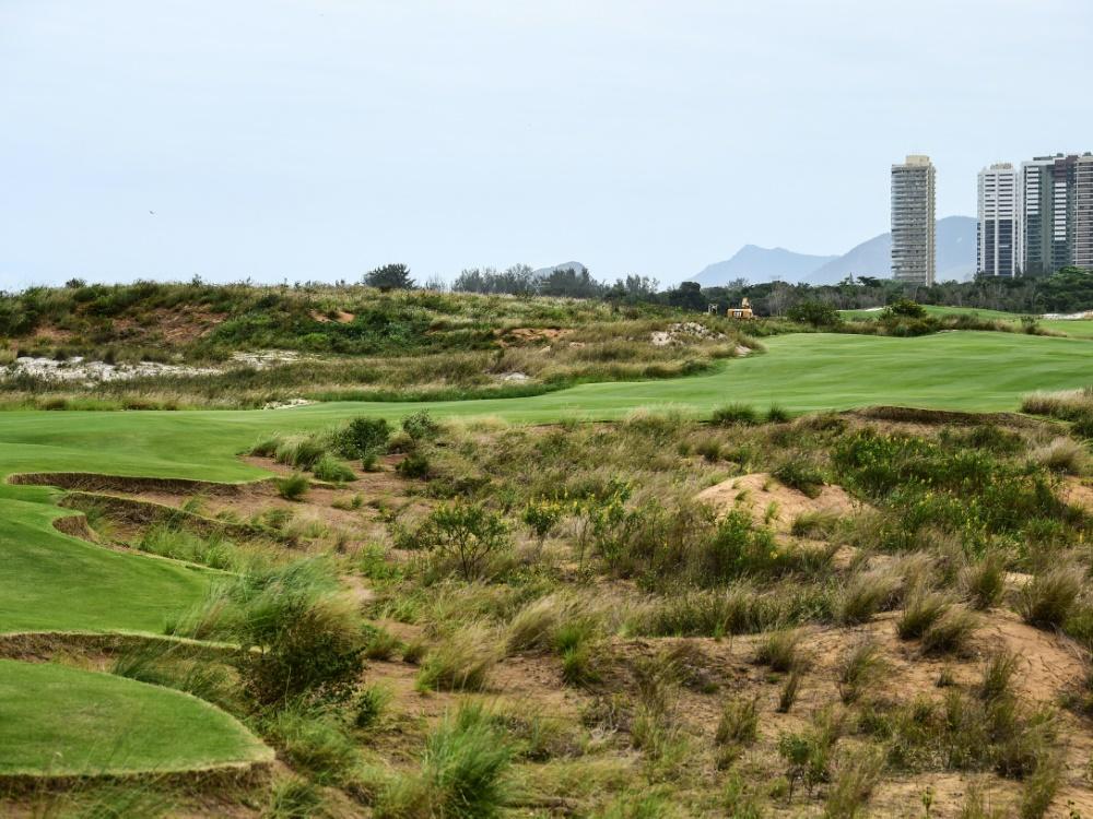 Der Golfkurs in Rio wurde extra für Olympia neu gebaut