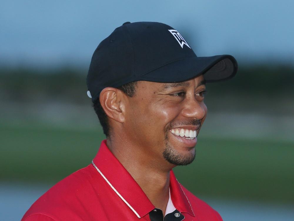 Blickt optimistisch in die Zukunft: Tiger Woods