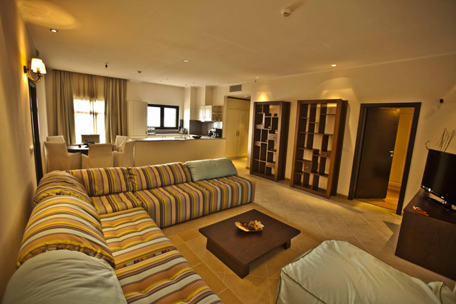 Thracian Cliffs Apartment innen
