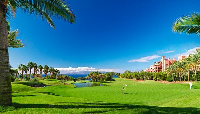 Der 18-Loch-Golfplatz 'Abama Golf' wurde vom ehemaligen Ryder Cup-Spieler Dave Thomas entworfen. Fotocredit: Abama Ritz-Carlton