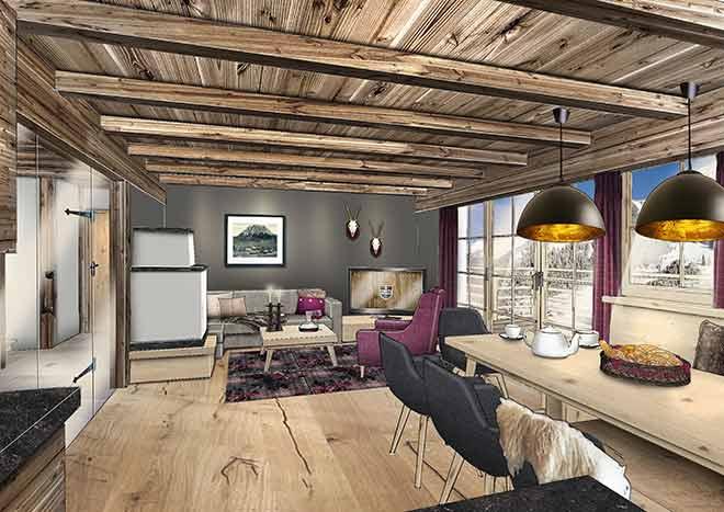 Alpine-Apart-Hotel-Pure-Lermoos-Kaminzimmer
