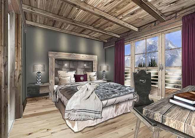 Alpine-Apart-Hotel-Pure-Lermoos-Schlafzimmer
