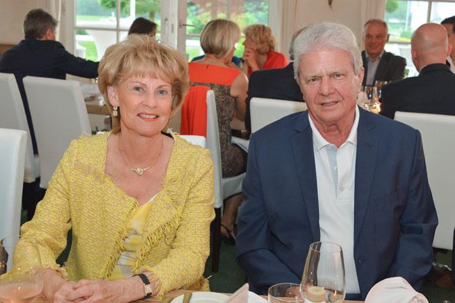 Dietmar Hopp mit Frau beim Dinner im Carpe Diem in St. leon Rot
