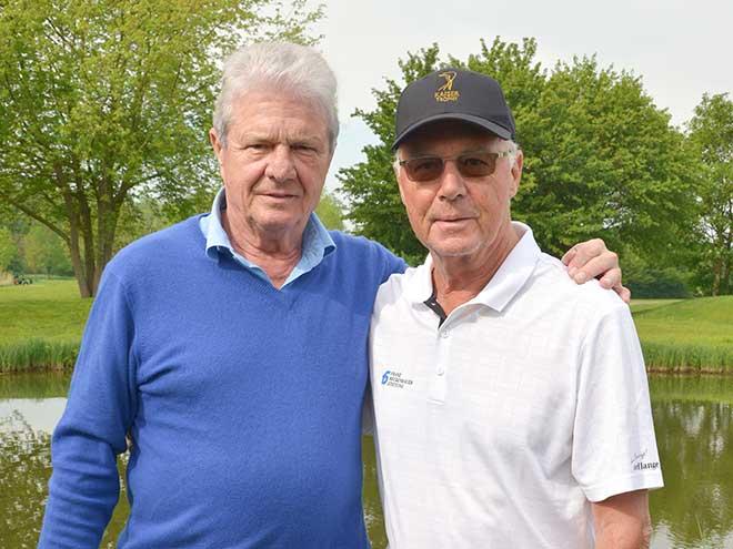 Gute Freunde - Franz Beckenbauer und Dietmar Hopp