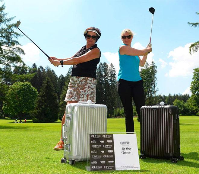 Seit 5 Jahren als Partner dabei. Rimowa und jedes Jahr erhalten die Gewinner ein neuen Rimowa Trolley.