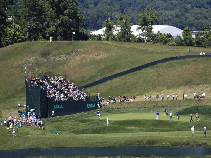 US Open 2016 im Oakmont Country Club in Pennsylvania. Foto: Tannen Maury