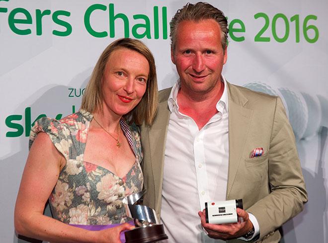 Der Bruttosieger gewinnt die neue Leica Pinmaster Eduard Eckrodt