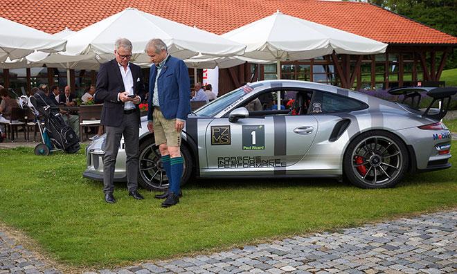 Porsche GF Franko Dorow mit Michael Hannewacker ebenfalls Porsche
