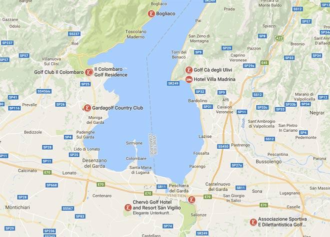 Karte Italien Gardasee.Terror Angst Beeinflusst Golfurlaub Seite 3 Exklusiv Golfen