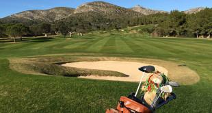 Golfplatz Alcanada - man nennt ihn auch den Porsche Platz. 16 Bahnen mit Blick aufs Meer.