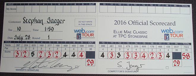 diese scorecard ist legend u00e4r   u2013 exklusiv golfen