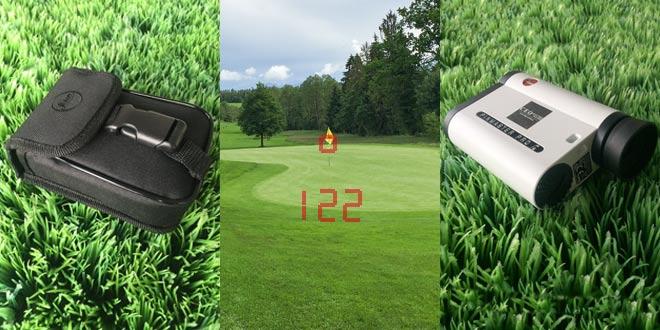 Der Leica Pinnmaster II Pro gehört zu jedem Golf Equipment