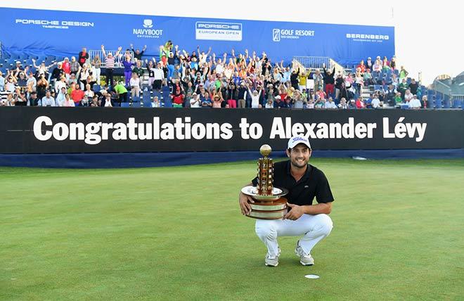 Der Franzose Alexander Levy holt sich den Sieg bei der zweiten Ausgabe der European Open in Bad Griesbach. Fotocredit: GettyImages
