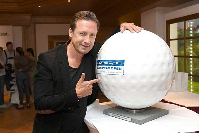 Für TV-Produzent Norbert Dobeleit hieß die Devise: Golf anstatt Oktoberfest, wohnt er ja in München.