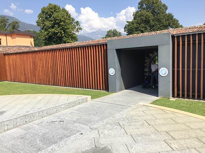 Clubhaus - Anbau Golf Patriziale in Ascona