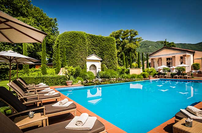 Kraftvoll, Achtsam, Seele, Kulinarik, Erholung, prächtige Farben - all dafür steht das Giardino in Ascona