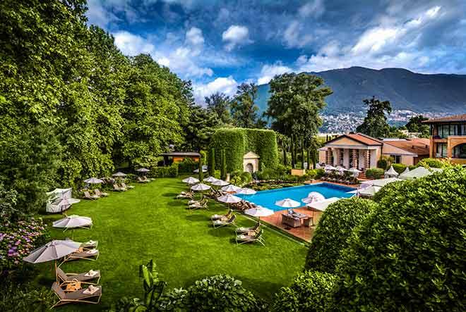 Giardino heisst auf Italienisch der Garten - hier im Giardino ist der Garten eine großartige Erholungsoase