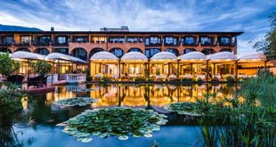 5 Sterne Hotel Giardino in Ascona im Tessin, 72 Zimmer, ein Golfplatz direkt am Hotel und den Lago Maggiore vor der Türe.