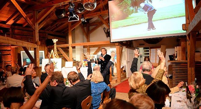 Florian Langenscheidt konnte 180.000 € mit nur einem Golfturnier einsammeln! Fotocredit: Münchner Kinderhilfsorganisation Children for a better World e.V