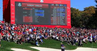 Ryder-Cup Sieg der USA vor heimischem Publikum