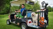 Sind Hunde auf dem Golfplatz erlaubt?