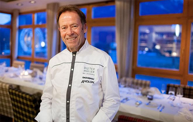 Ausnahmeort für Dieter Müller: Kochkurs im Dolomitengolf Resort in Osttirol. Fotocredit: Martin Lugger