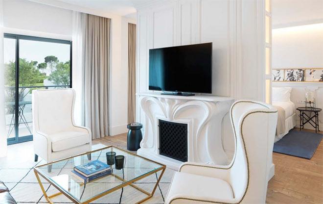 Die neuen Zimmer des Luxushotels