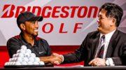 Tiger Woods erster Bridgestone Werbedeal nach Golf-Comeback