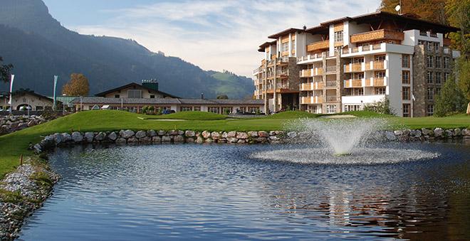 Blick auf Green No. 9 - Fotocredit: Grand Tirolia