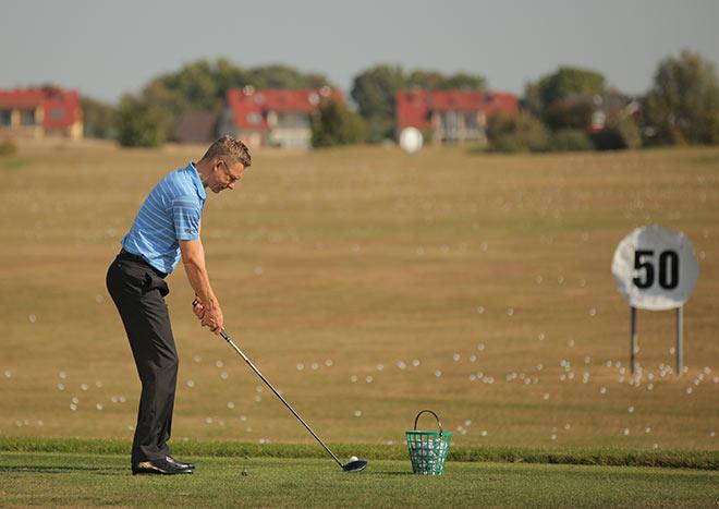 Golfschwung Oliver Heuler