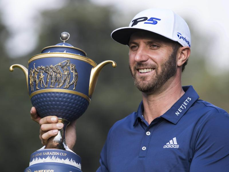 Golf-Star Dustin Johnson gewinnt World Golf Championships-Turnier in Mexiko
