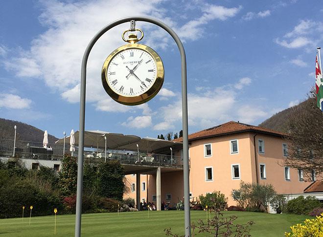Zehn Autominuten ist der Golfclub Lugano vom Hotel entfernt.